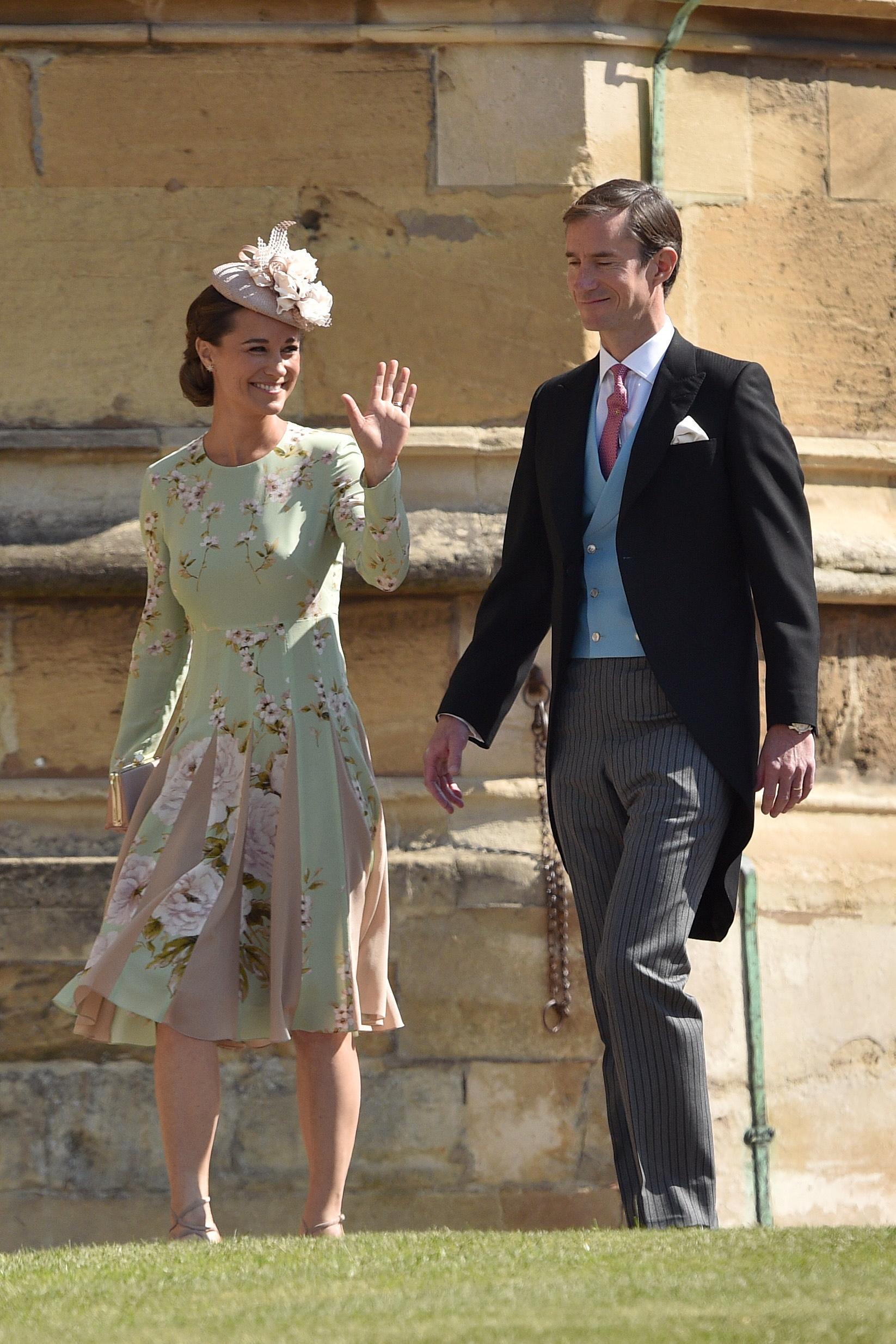Pippa Middleton incinta: 'Non ho nausee e mi alleno come sempre'
