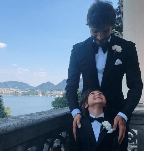 Stefano De Martino e le nozze sul lago di Como