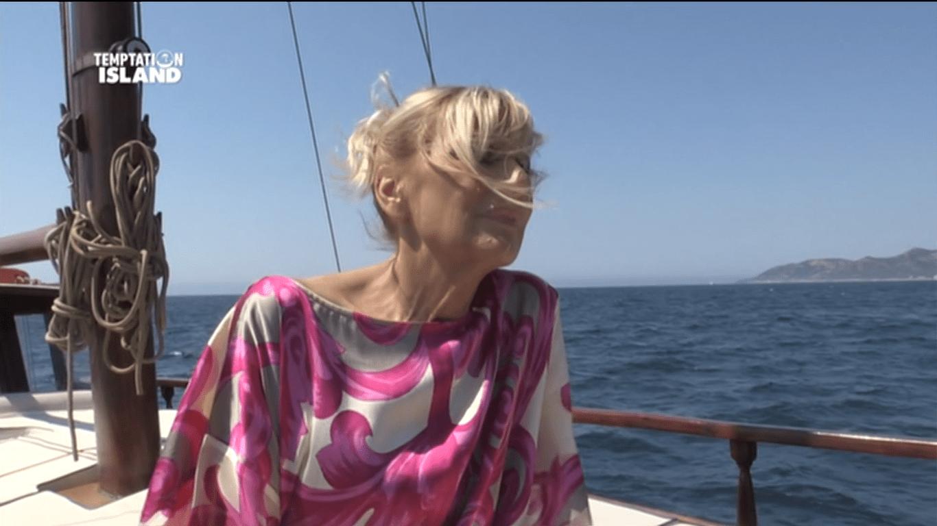 Gemma Galgani a Temptation Island