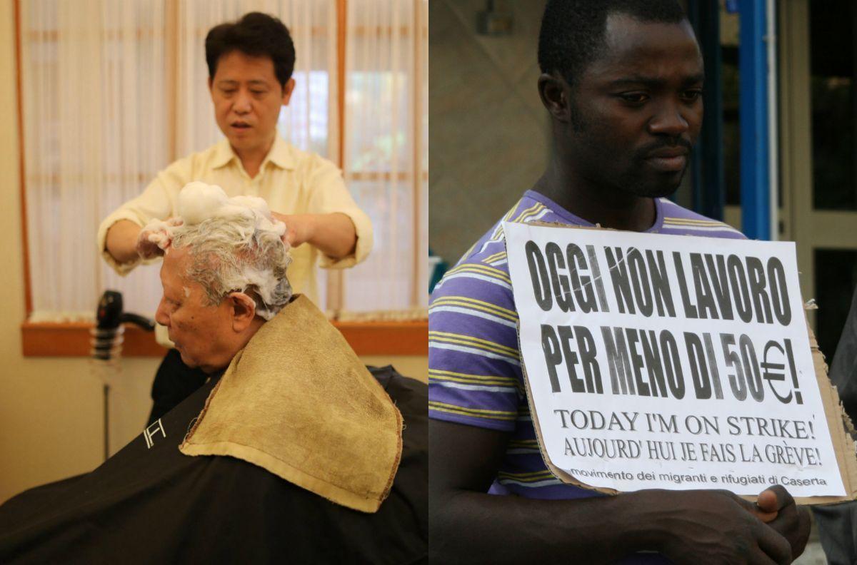 Perché il parrucchiere cinese sì e il bracciante senegalese no?