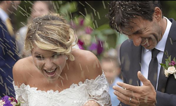 Kledi Kadiu e Charlotte Lazzari si sono sposati, matrimonio insieme alla piccola Lea