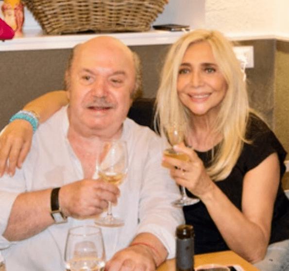Mara Venier al compleanno di Lino Banfi