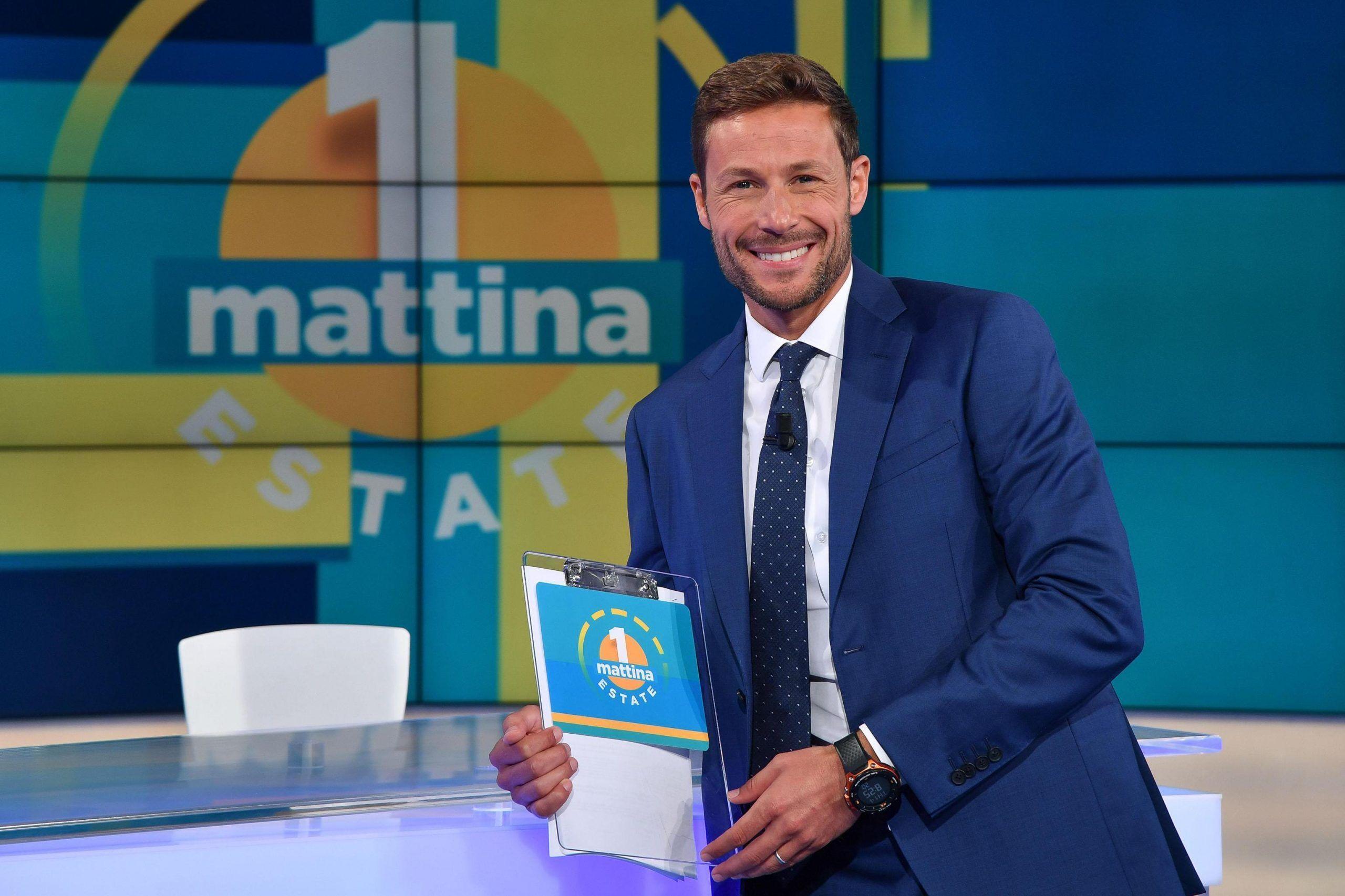 Il conduttore di Unomattina Estate, Massimiliano Ossini, neg