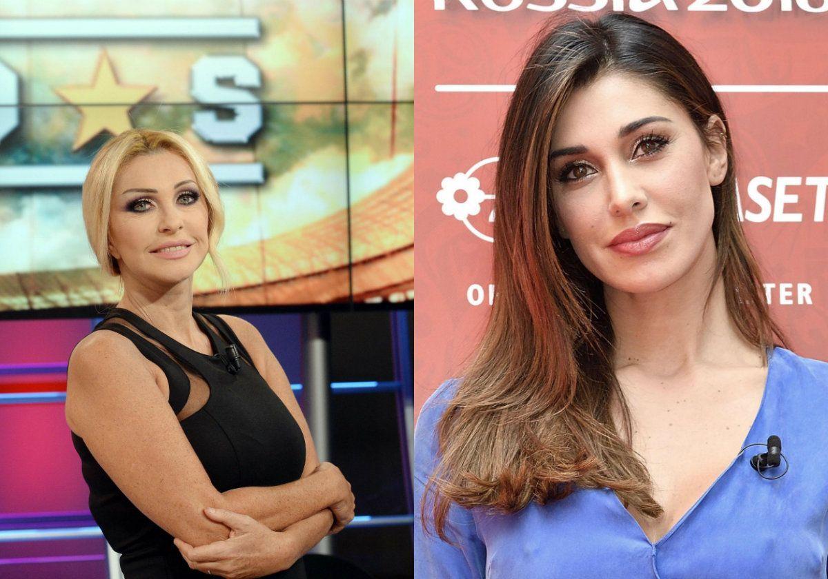 Paola Ferrari contro Belen Rodriguez: 'Priva di ogni goccia di talento ma…'