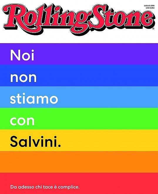 Rolling Stone contro Salvini, Mentana e Lucarelli contro Rolling Stone