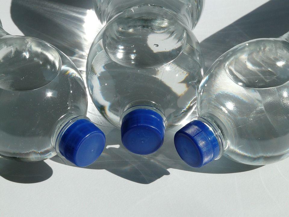 bottiglie di plastica pet