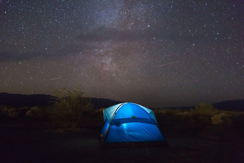campeggio stelle