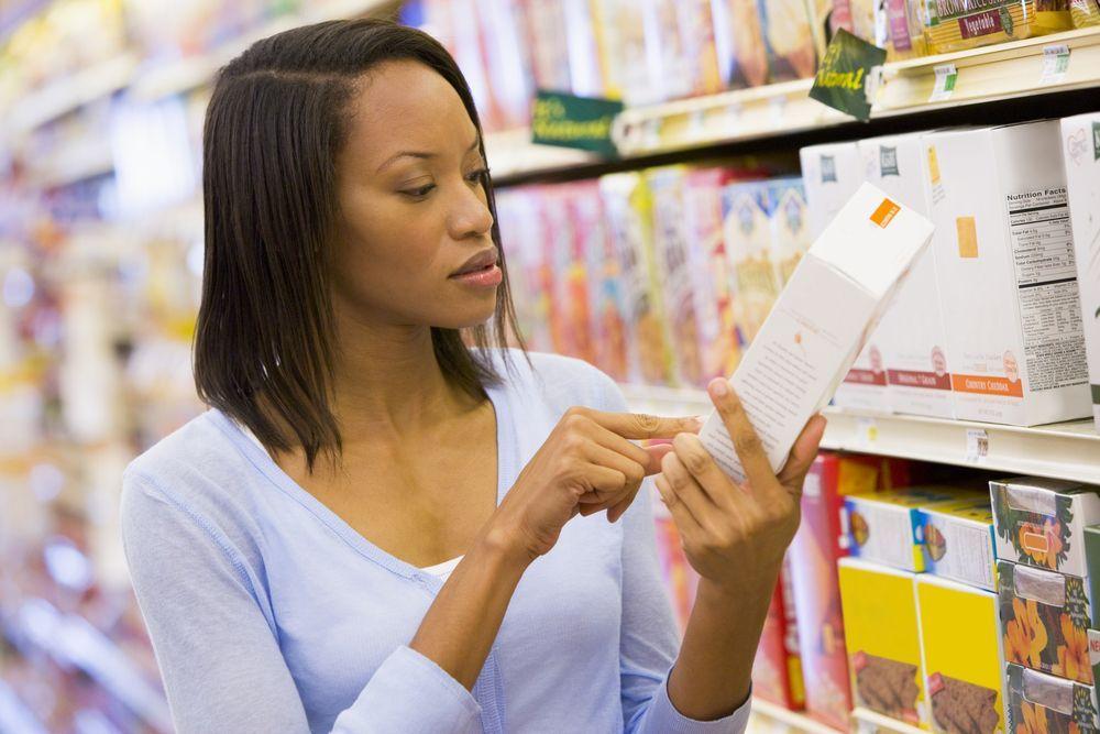etichette alimenti