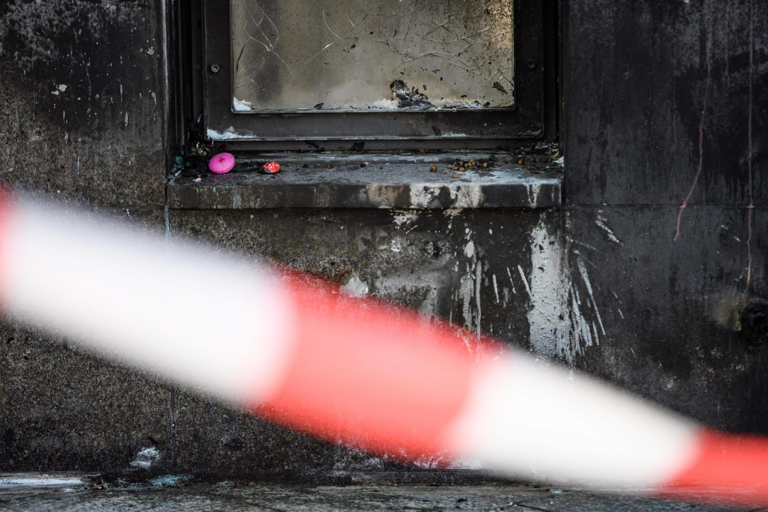 Homeless dati alle fiamme a Berlino