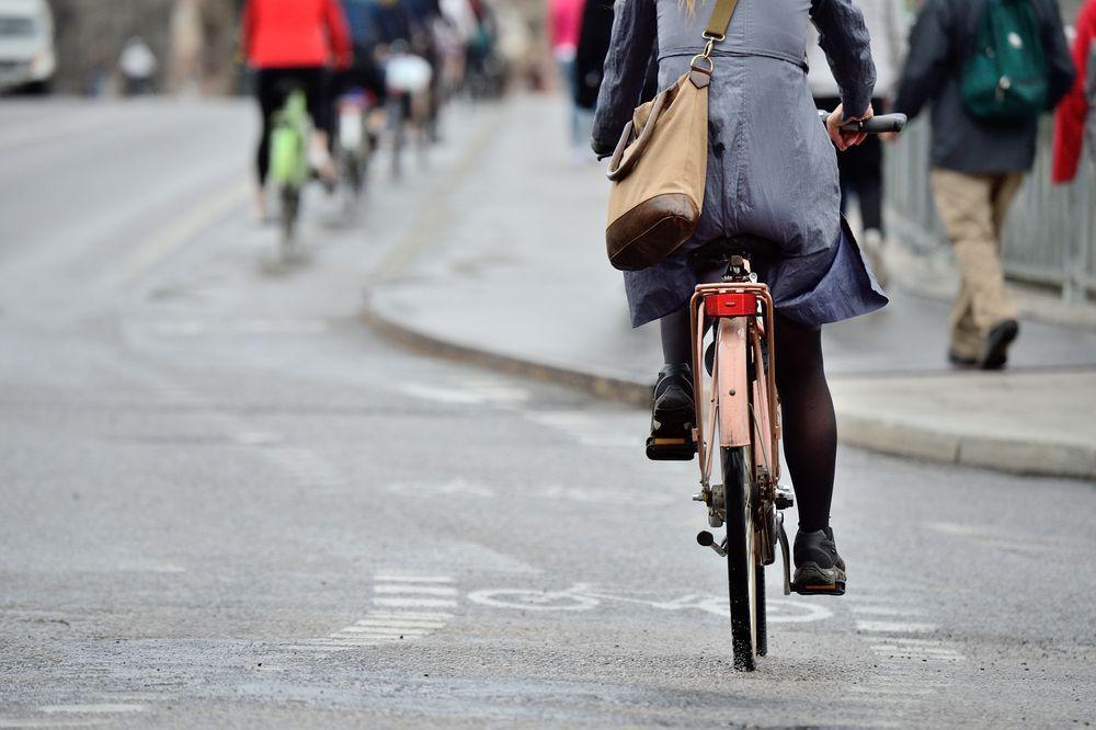 L'importanza di andare a lavoro in bici