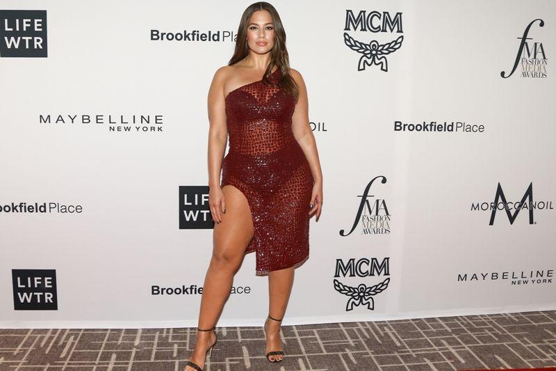 modelle oversize, Ashley Graham top model curvy