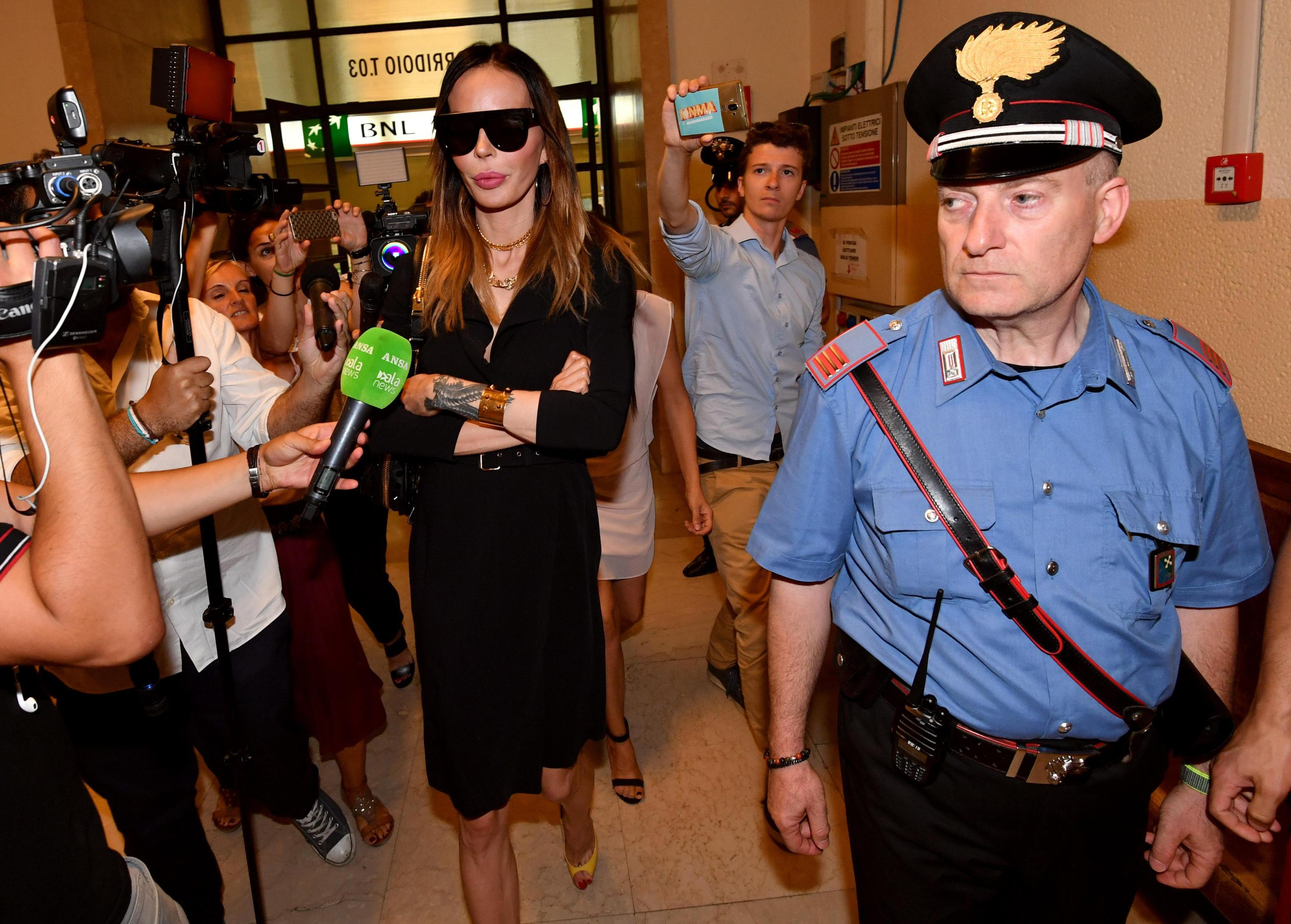 Nina Moric in tribunale