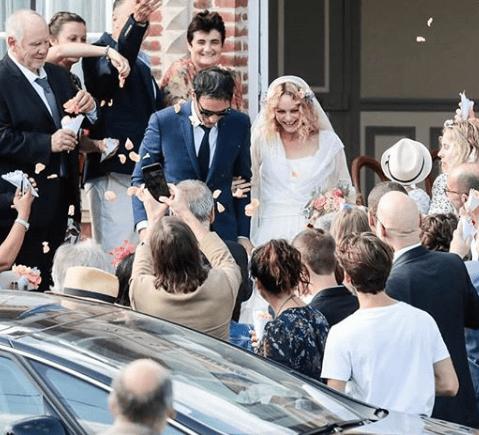 Vanessa Paradis, ex di Johnny Depp, si è sposata