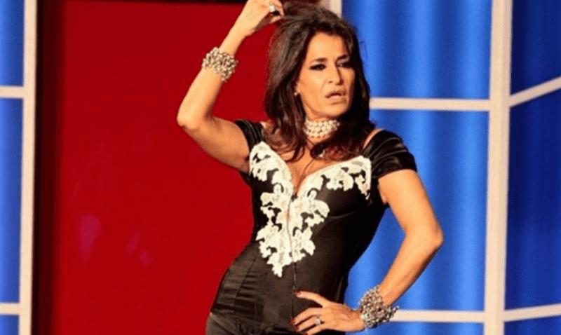 Aida Nizar con Barbara D'Urso a Pomeriggio Cinque