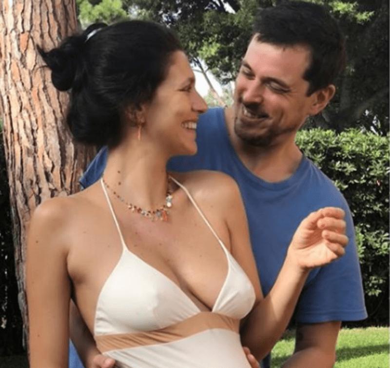 Giulia Bevilacqua, l'attrice incinta per la prima volta: 'Felicità pura'