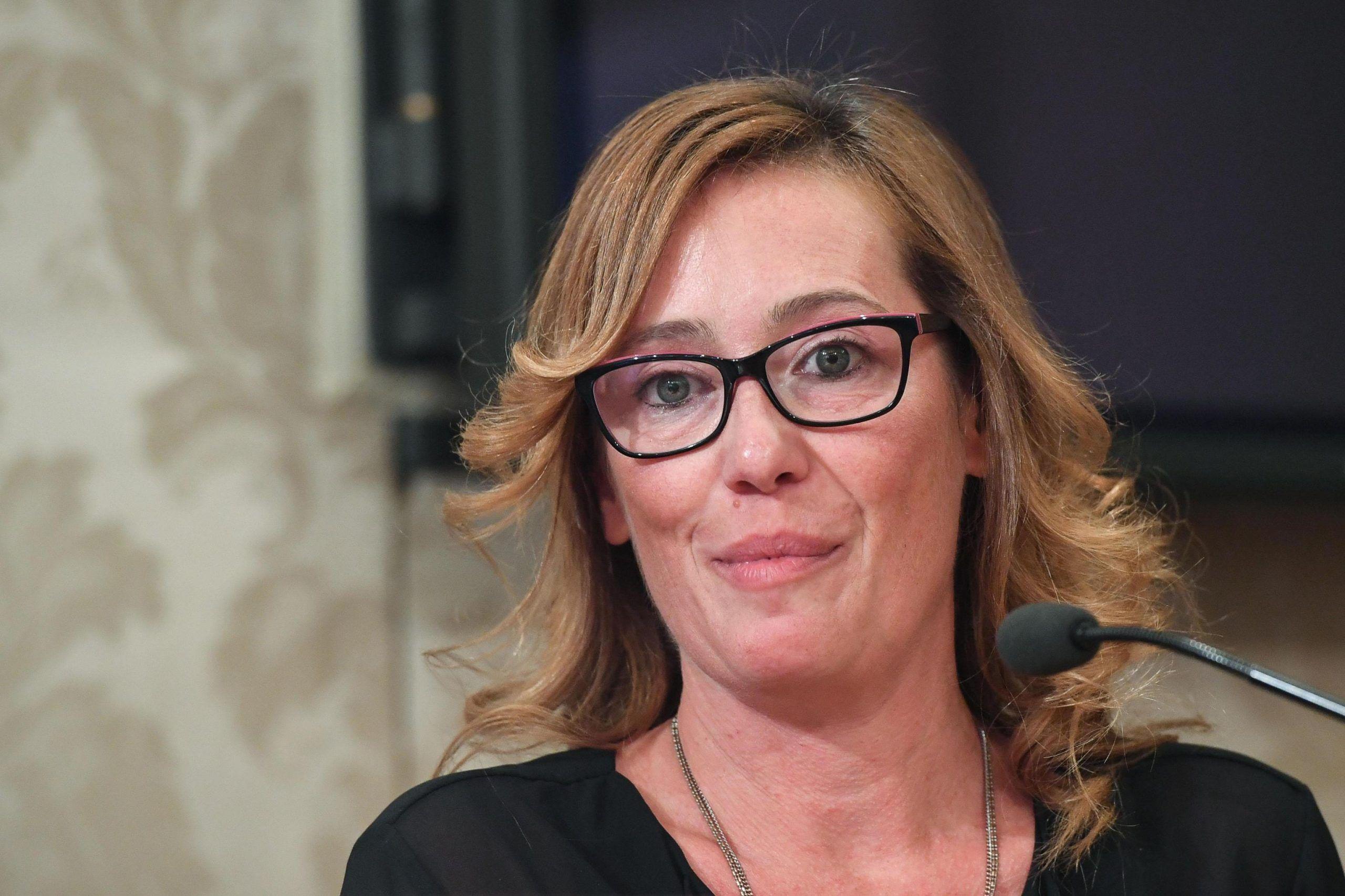 Ilaria Cucchi a Venezia: 'Il film su mio fratello lo dedico a Salvini'