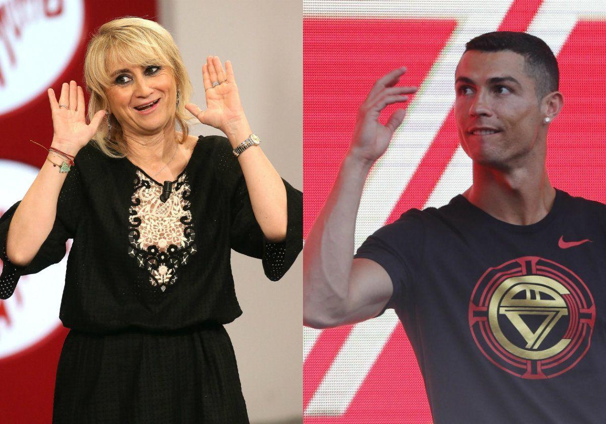 Luciana Littizzetto infastidita dall'arrivo di Cristiano Ronaldo a Torino: 'Addio privacy'