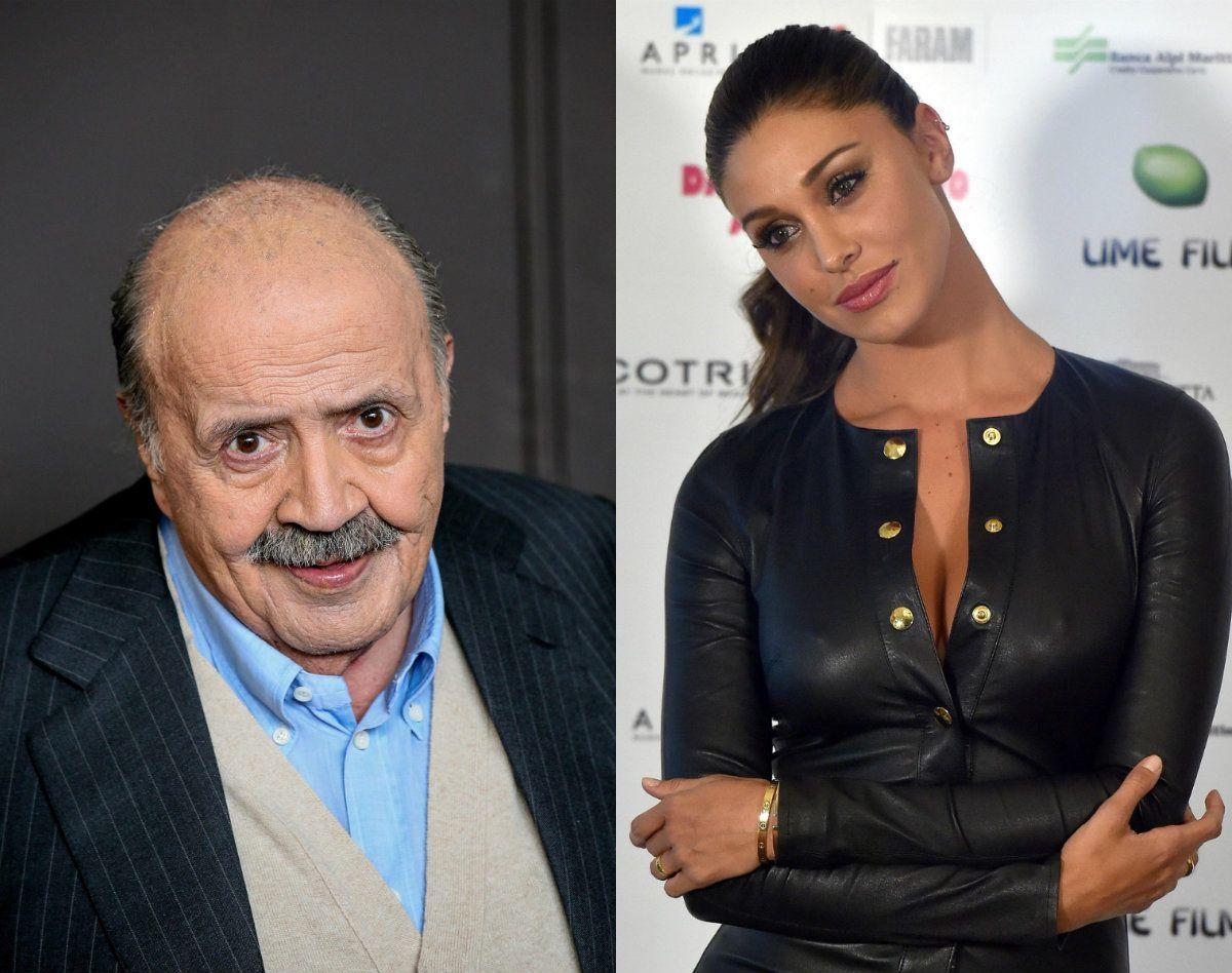 Maurizio Costanzo: 'Belen Rodriguez conduttrice? È solo un'ospite gradita'