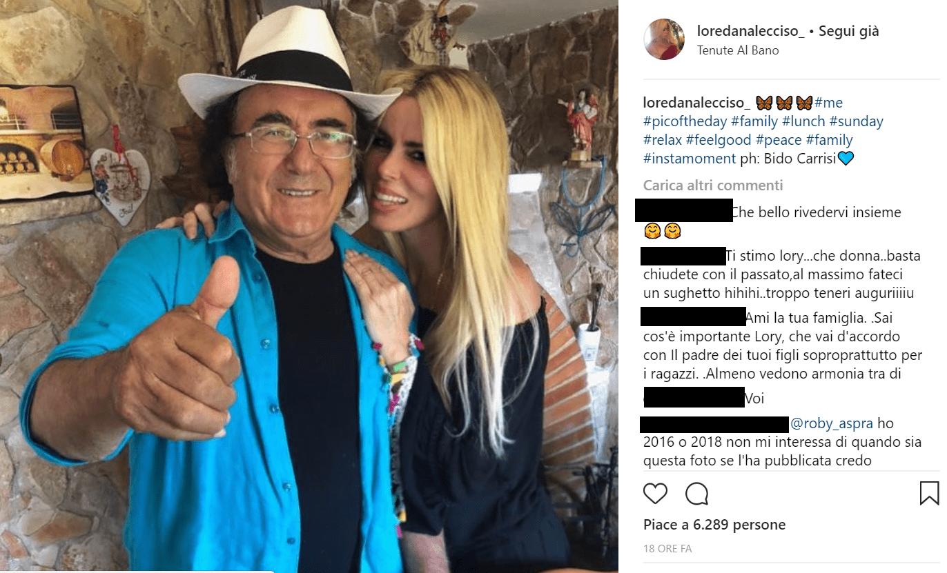 Al Bano e Loredana Lecciso insieme a Cellino, ma c'è chi dice che la foto è del 2016