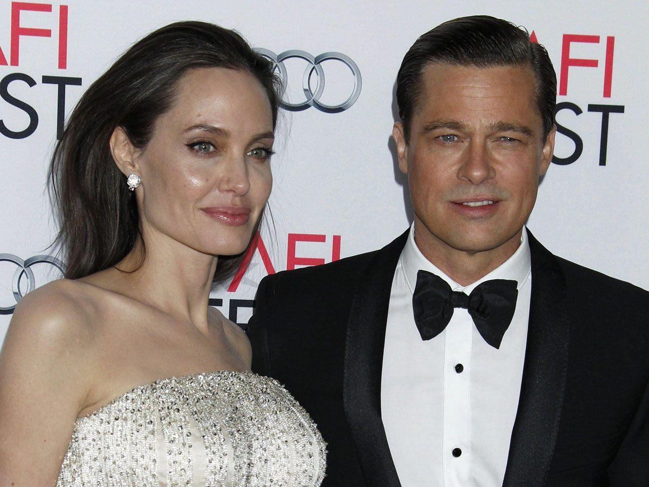 Angelina Jolie e Brad Pitt divorzio