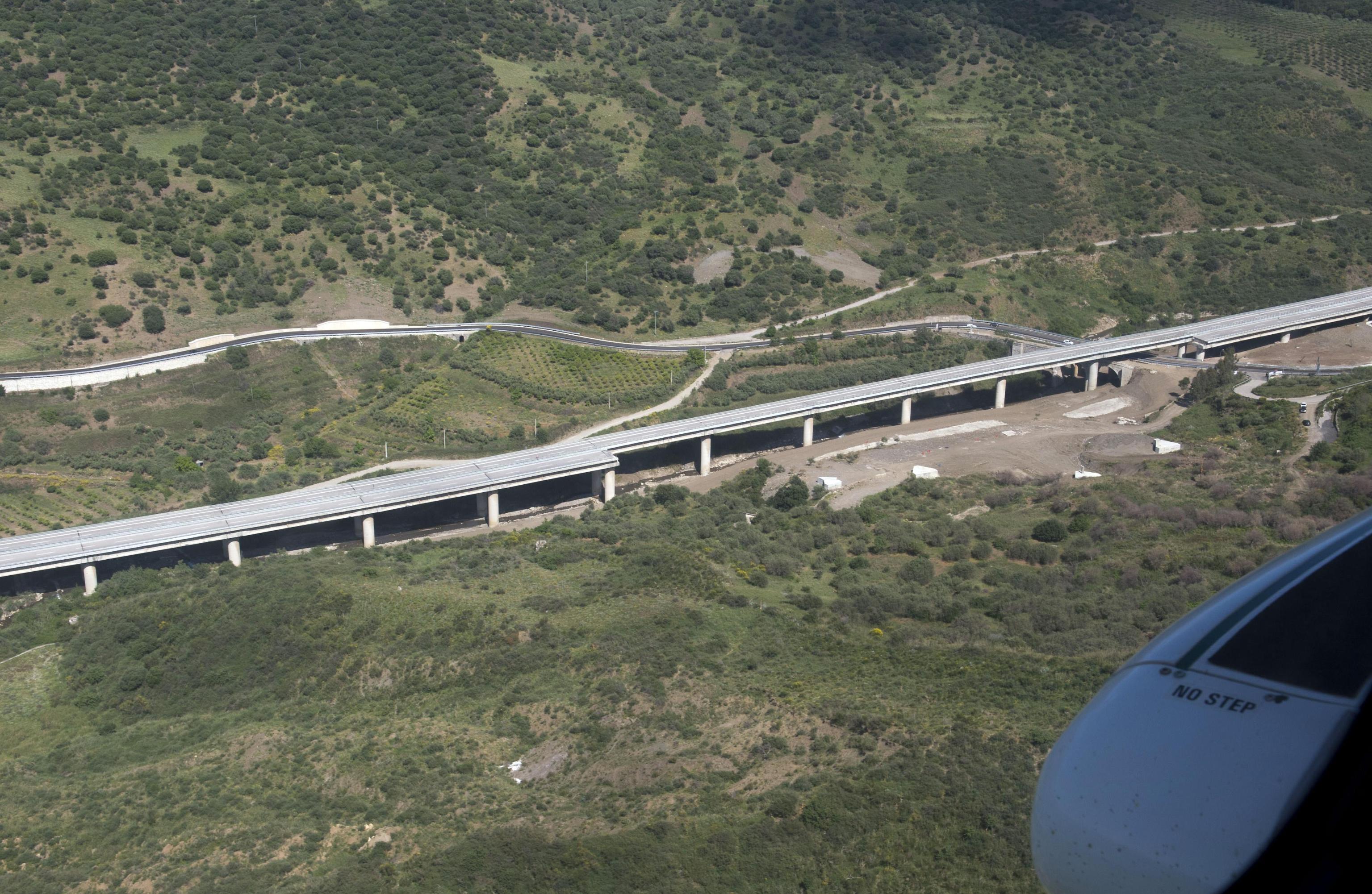 viadotto crollato sulla Palermo Catania