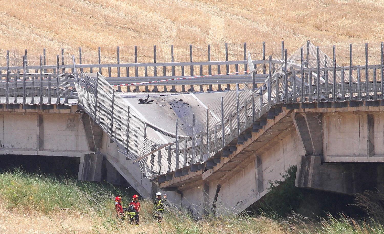 Crollo ponte: Procura Agrigento apre inchiesta