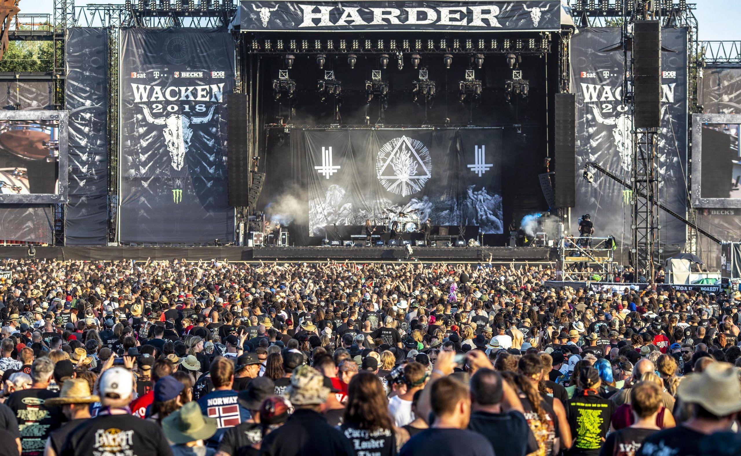 Wacken Open Air festival 2018