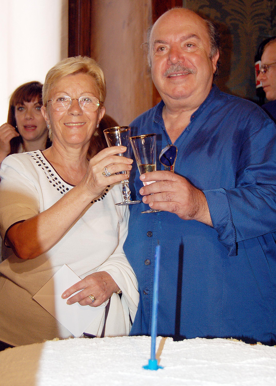 Lino Banfi torna a sorridere: 'Mia moglie sta meglio'