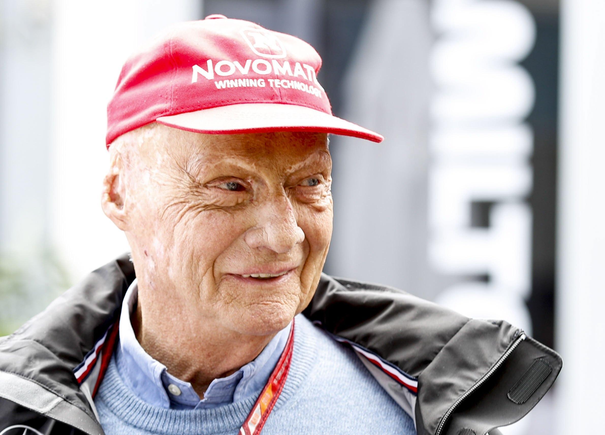 Niki Lauda è grave dopo un trapianto di polmoni