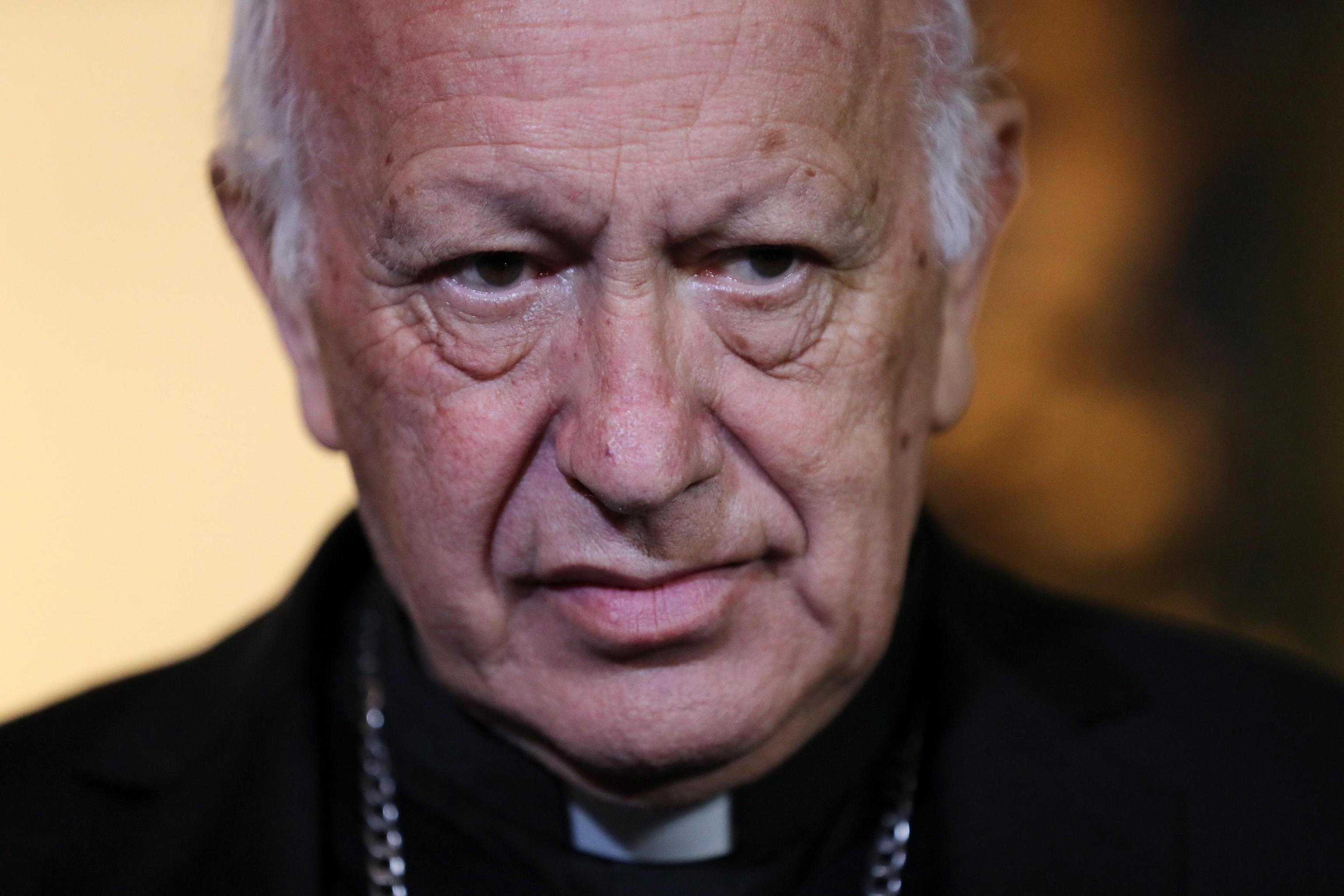 Pedofilia: ricoverato in Cile il cardinale Ricardo Ezzati