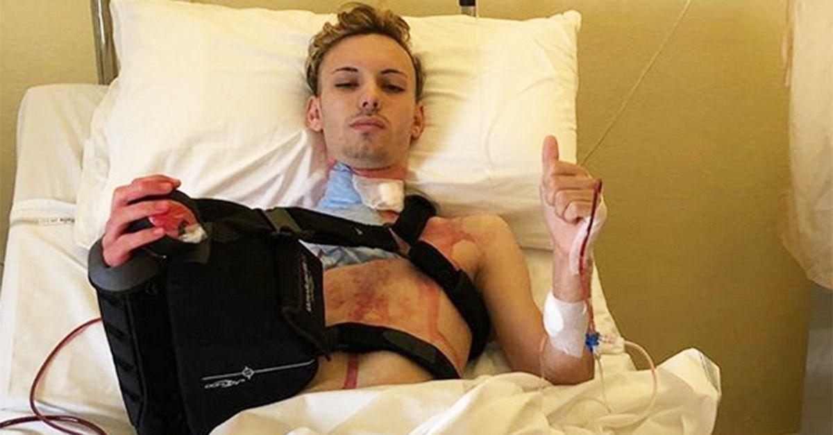 Salvatore Pezzano, che nessuno voleva operare, ce l'ha fatta: 'Mai arrendersi!'
