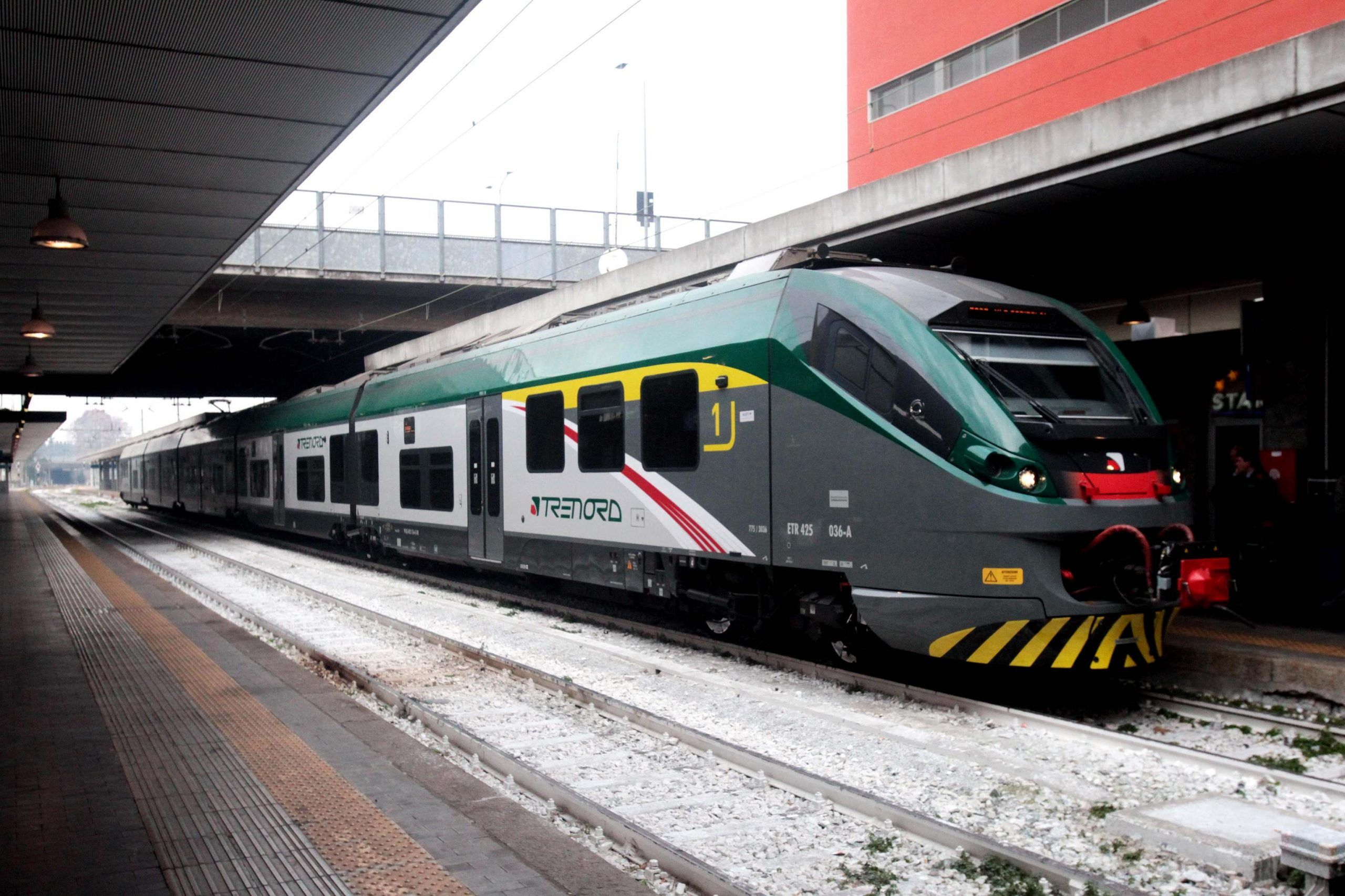 Trenord a Milano