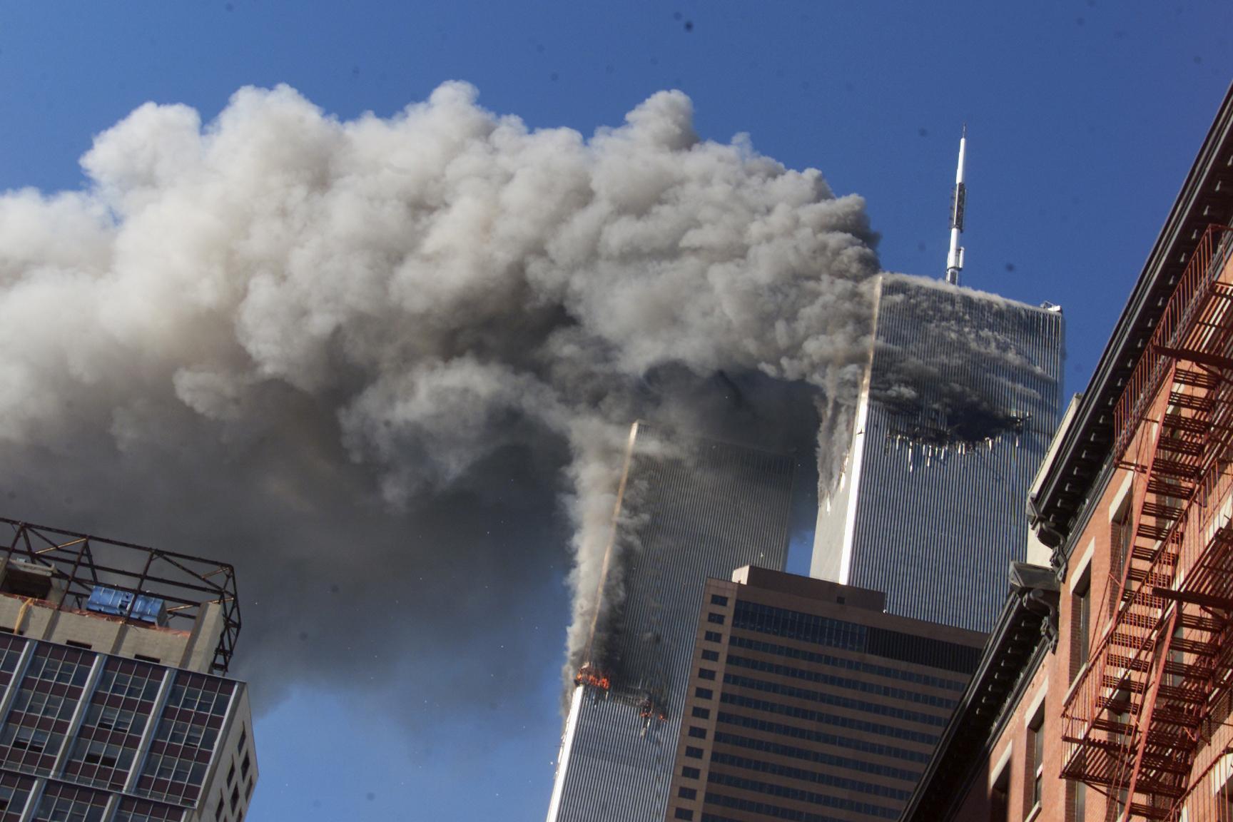 11 settembre: i video inediti dell'attacco alle Torri Gemelle