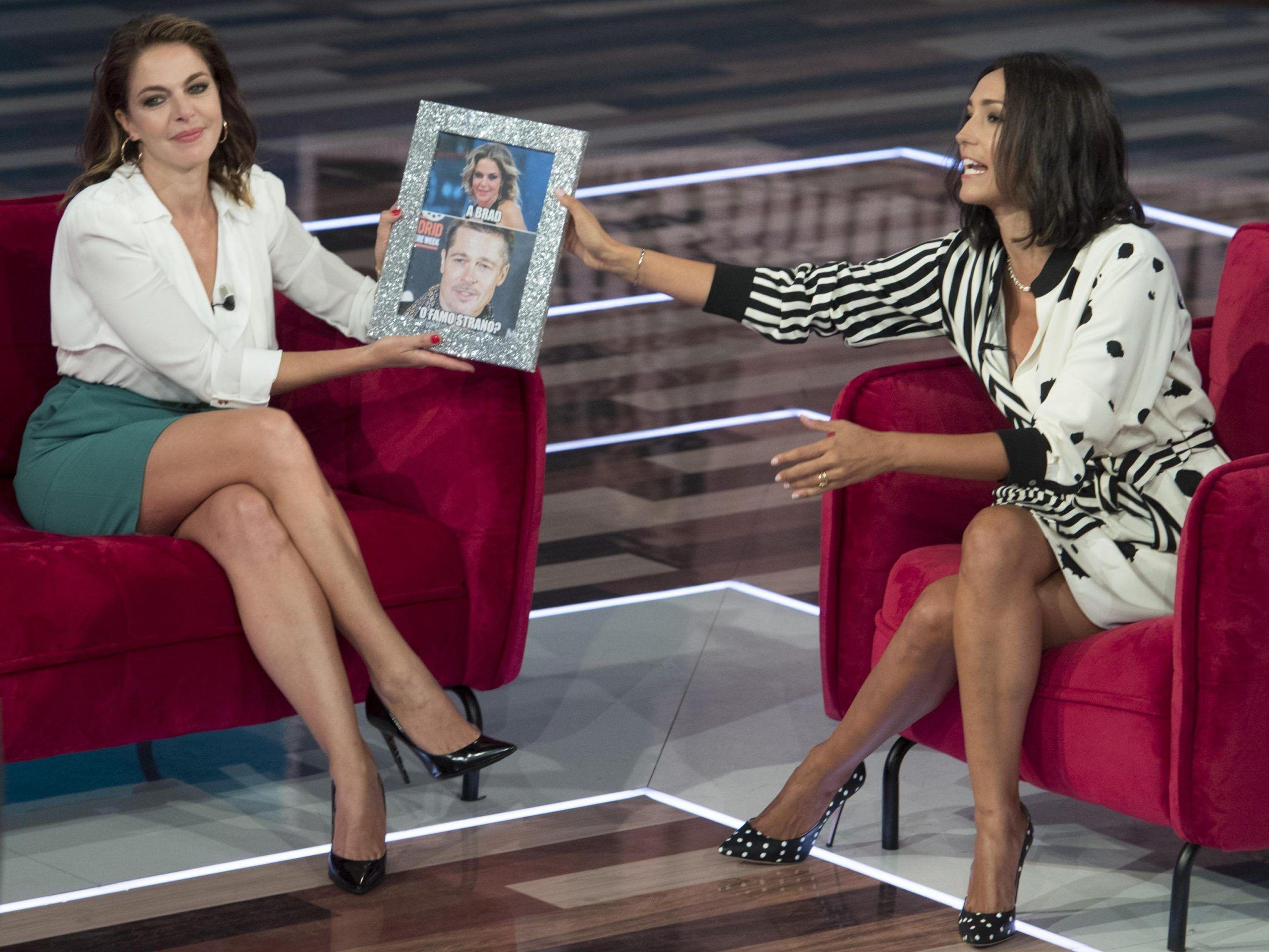 Claudia Gerini: 'Sono uscita con George Clooney. Andrea Preti? Anche lasciare è difficile'