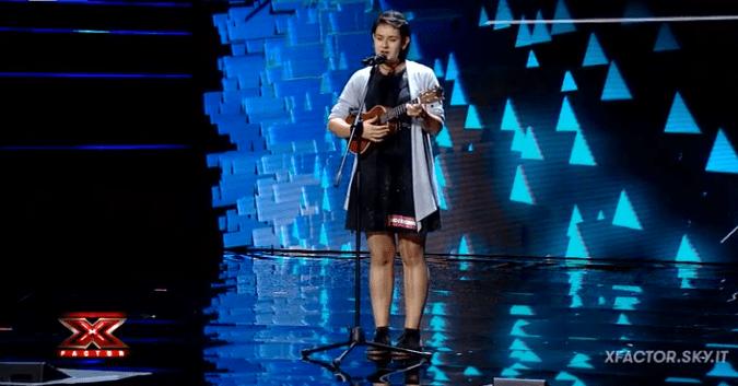Elena Piacenti a X Factor 12