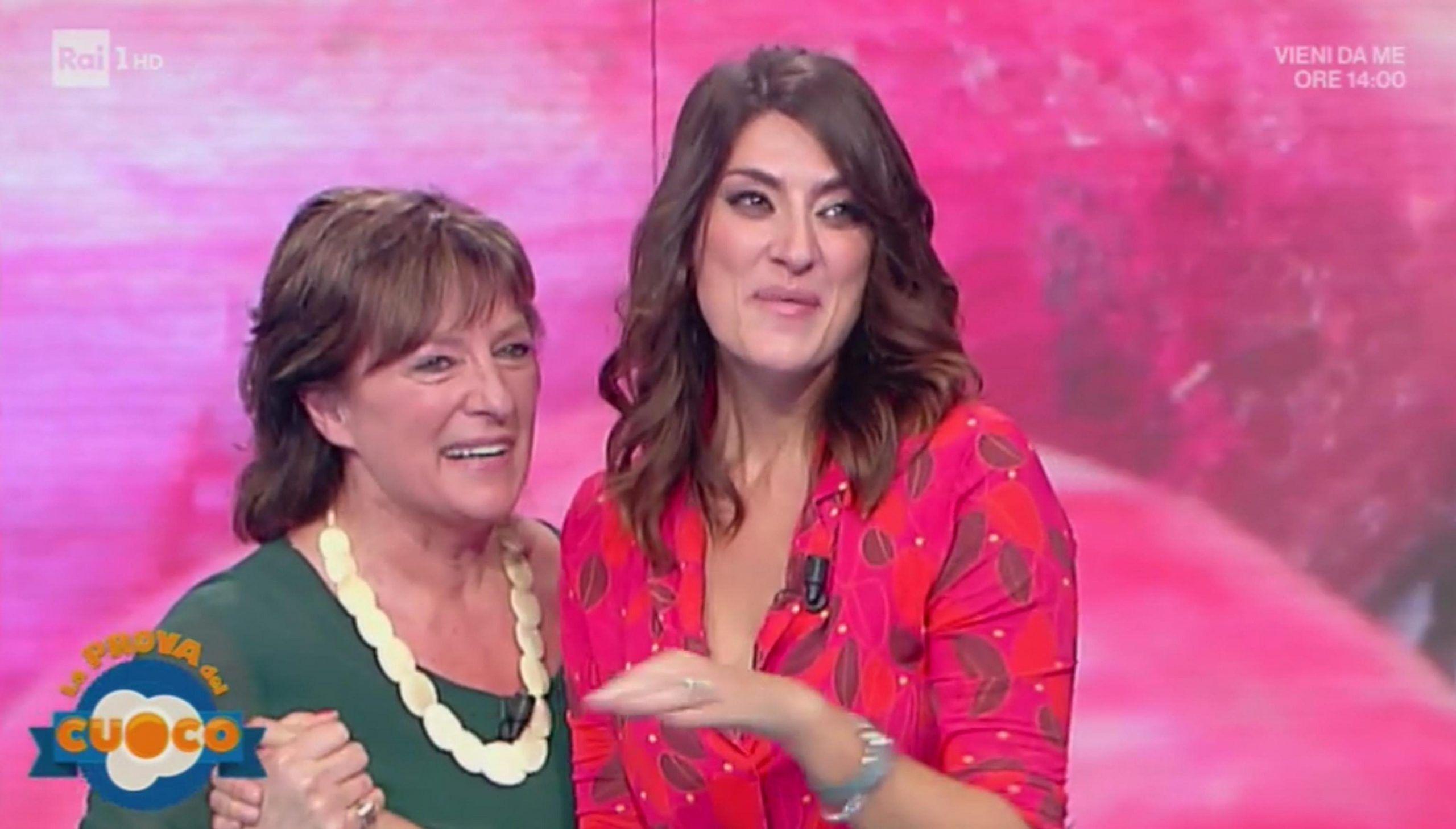 La Prova del cuoco, Elisa Isoardi in lacrime: la madre in studio per la prima puntata