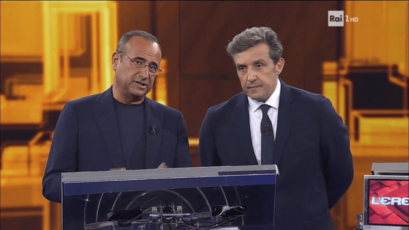 Flavio Insinna debutta a L'Eredità e la rete lo massacra: 'Imbarazzante'