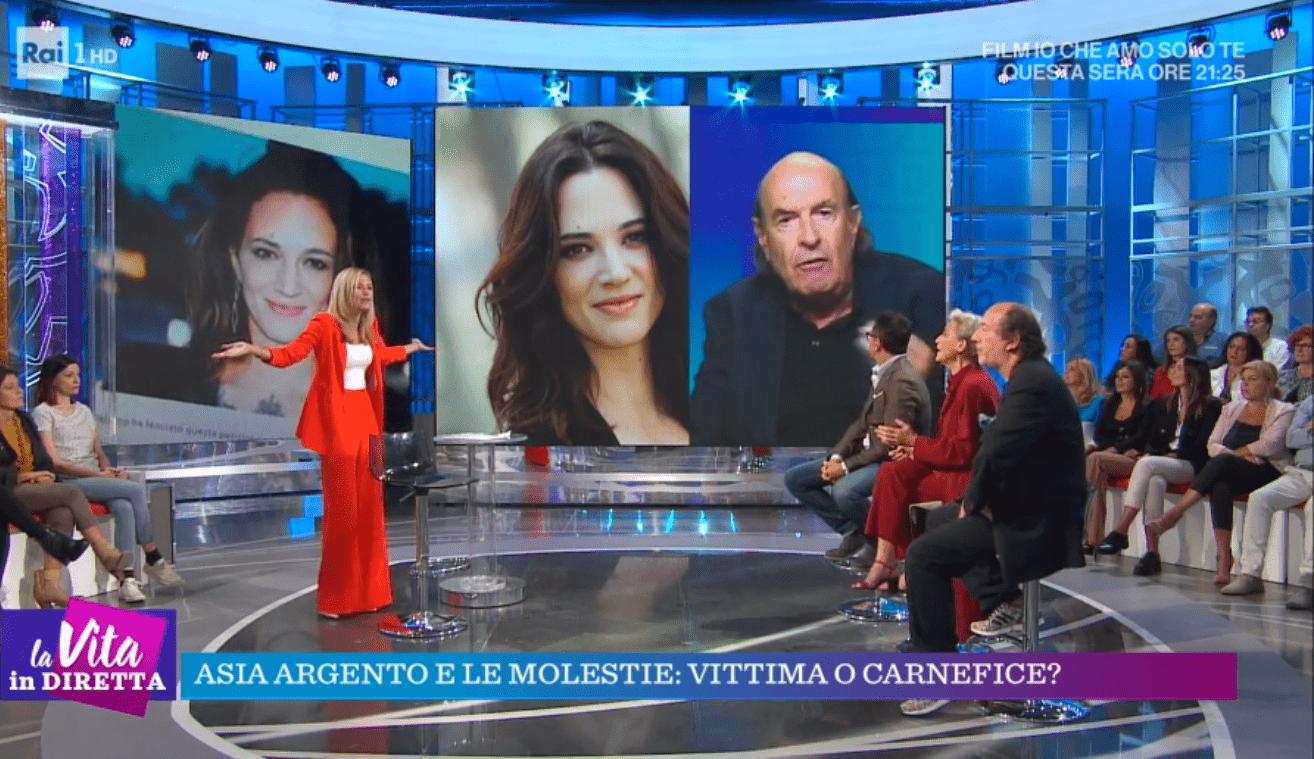 Francesca Fialdini e Stefano Zecchi, lite a La vita in diretta: 'Ritiri quello che ha detto, è volgare'