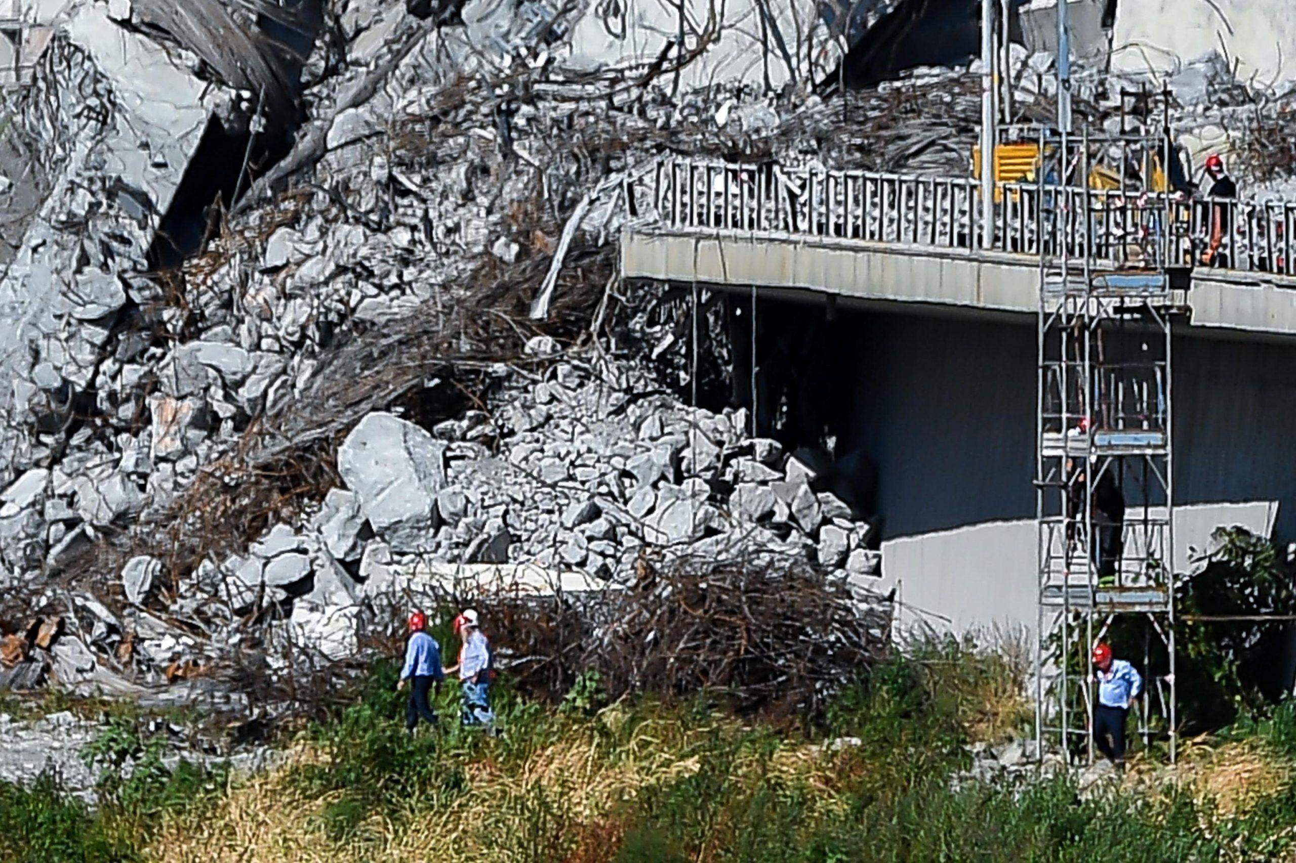 Genova, bambina smette di parlare dopo il crollo del ponte Morandi 'E' colpa del trauma'