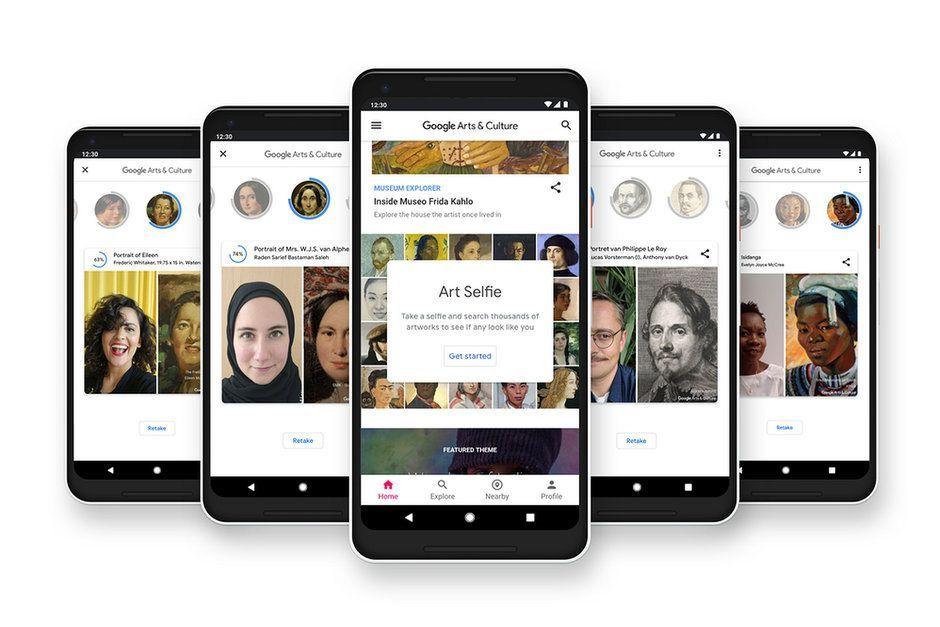 Google Art Selfie: l'app che ti dice a quale quadro assomigli