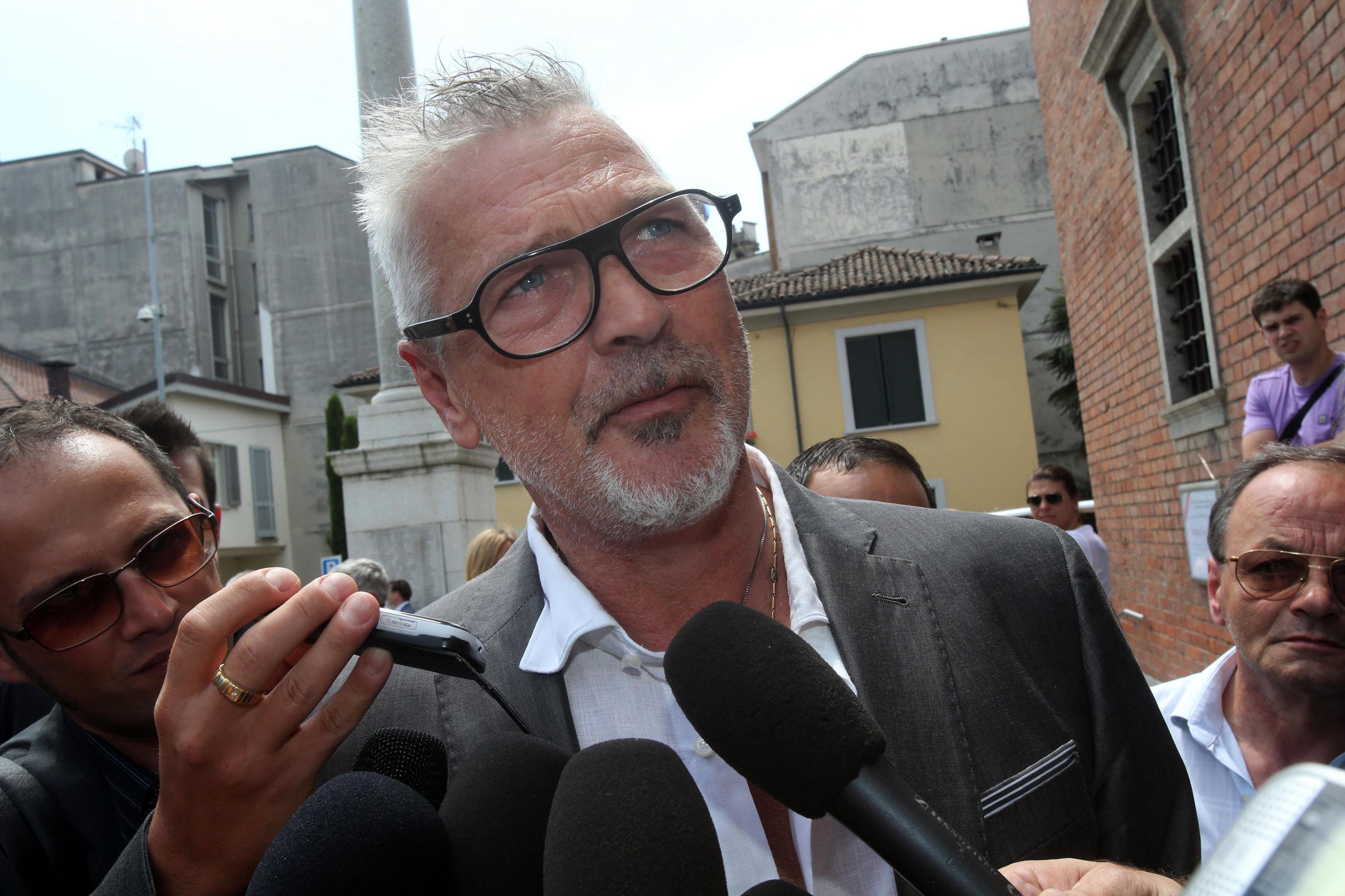 Stefano Tacconi e la moglie Laura Speranza accusati di tentata violenza privata