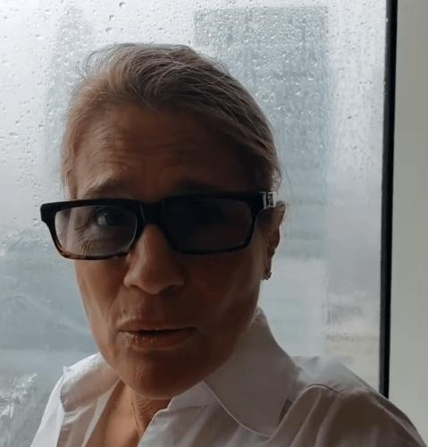 Heather Parisi terrorizzata dal tifone Mangkhut: 'Una domenica di paura'