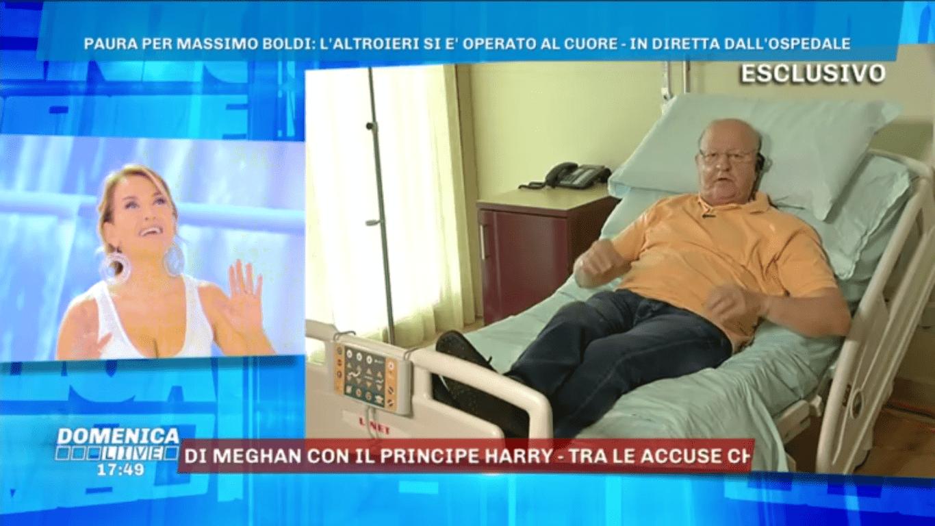 Massimo Boldi in ospedale, l'attore si è operato al cuore
