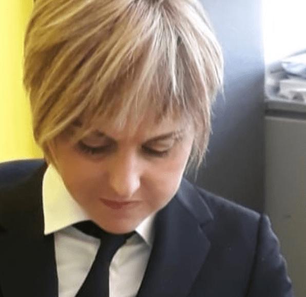 Nadia Toffa torna al lavoro