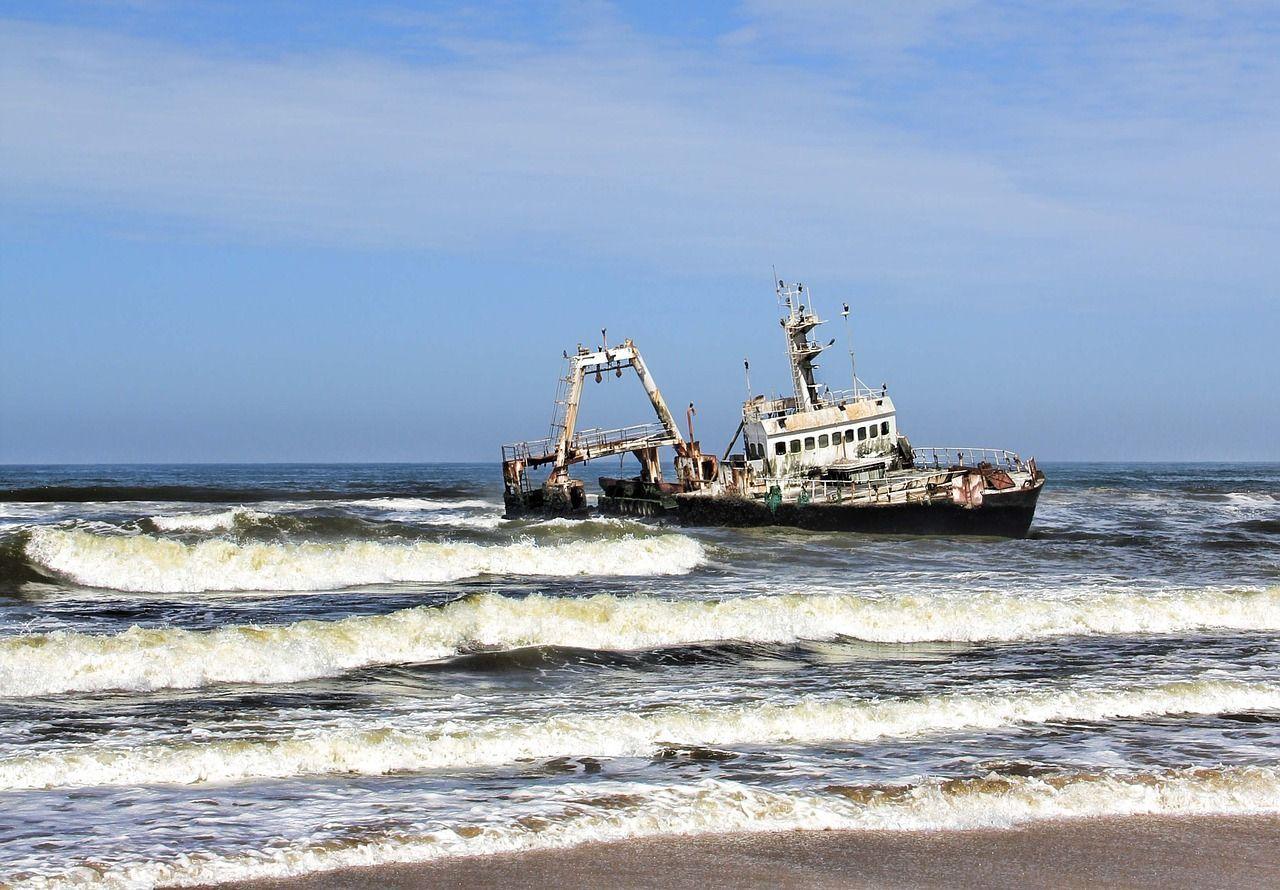 Nave fantasma riappare dalle acque a Myanmar era scomparsa nel 2009