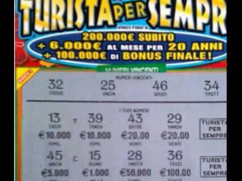 Roma: operaio vince 2 milioni con un biglietto da 5 euro di 'Turista per sempre'