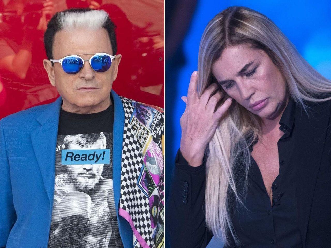 Cristiano Malgioglio a Lory Del Santo: 'Il GF Vip non è la giusta terapia'