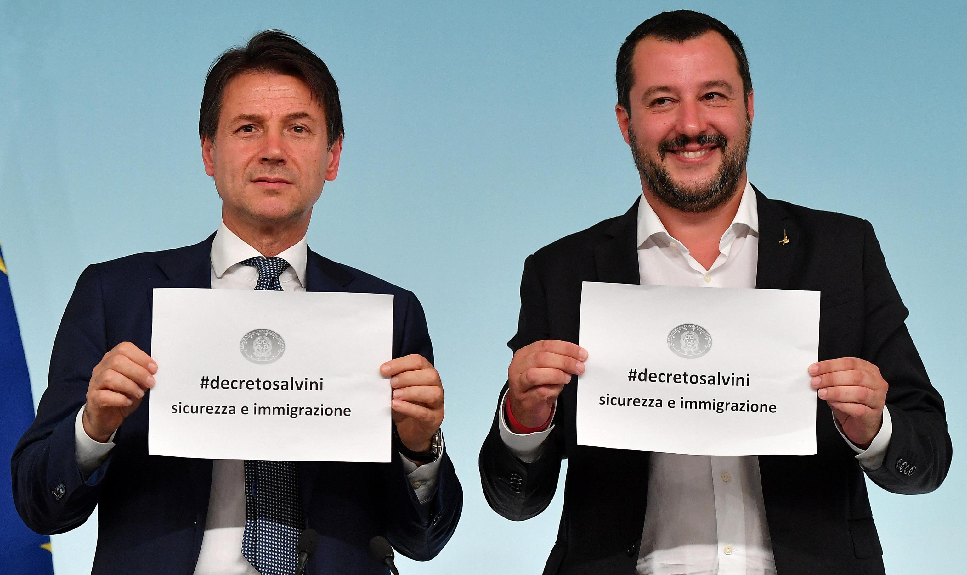 Salvini decreto sicurezza approvato dal consiglio dei ministri