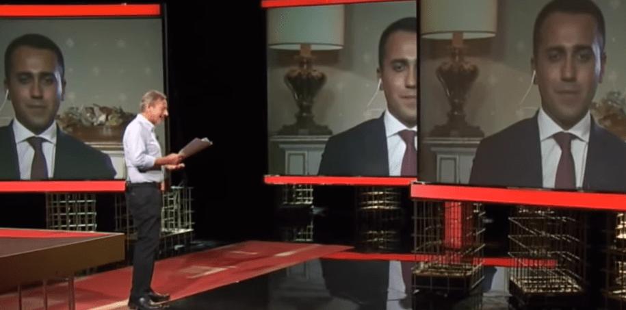 Di Maio a Presa Diretta: 'L'uomo è fatto del 90% di acqua'. Si scatena l'ironia sul web