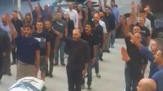 funerali fascisti sassari